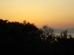 tramonto a Zia