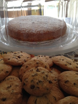 Torta allo yogurt e cookies
