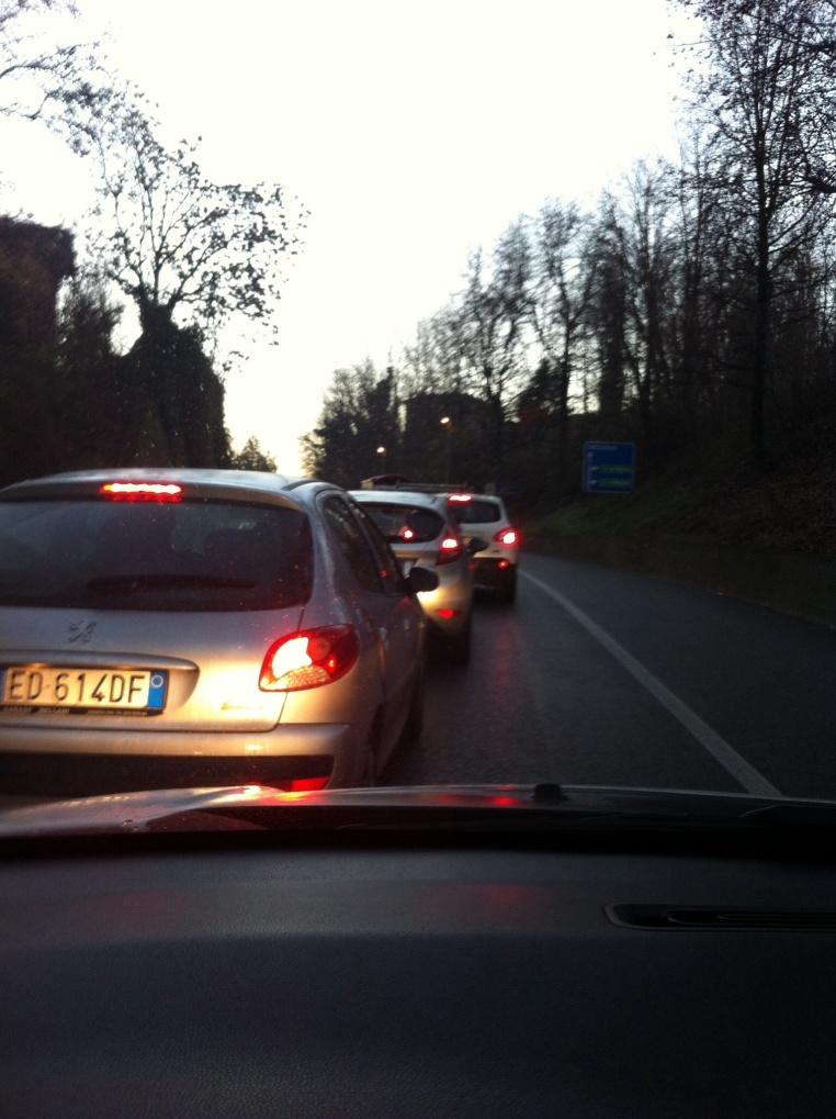 Traffico in tilt del 19 dicembre