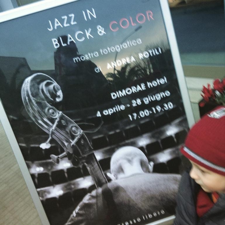 Jazz in black & colour
