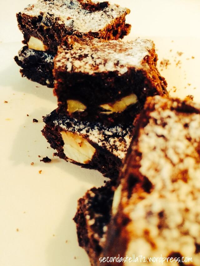 Brownies triplo cioccolato